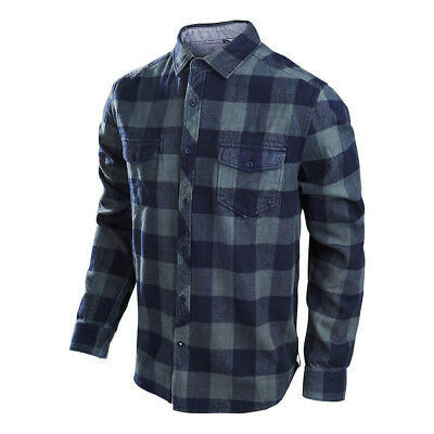 Troy Lee Designs Octane Woven Shirt Charcoal Mens All Sizes