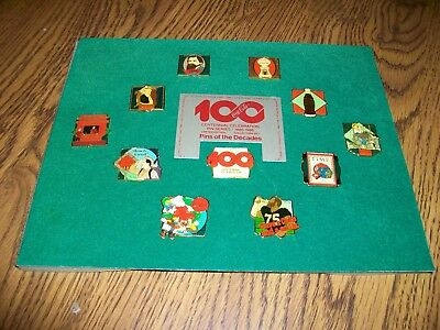COCA-COLA COKE 10 PIN SET 100 YEARS Pins Of The Decades 1886-1986