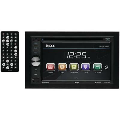 """Boss Audio Systems BV9351B 6.2"""" Double-DIN In-Dash DVD-MP3-CD & AM-FM Receiver w"""