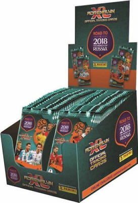 Panini Adrenalyn Road To World Cup Russia 2018 New closed box - 50 x Booster