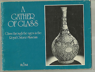 Museum Show of Historic and Antique Glass. Rare Exhibit Catalog from Canada