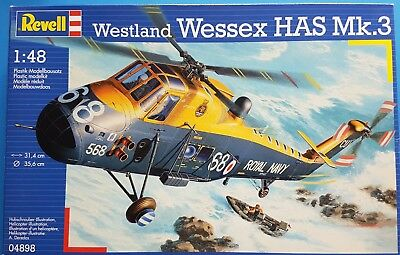 Revell 1:48 Westland Wessex HAS Mk.3 Kit No. 04898