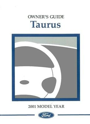 owners manual ford taurus see also taurus x 2001 20 00 picclick rh picclick com 2001 ford taurus wagon owners manual 2001 ford taurus wagon owners manual