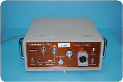 Olympus Clv Cold Light Supply Automatic Exposure (Light Source) ! (94196)