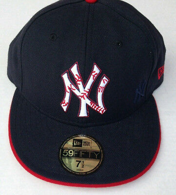 3796f0ef3fb3de NEW YORK YANKEES New Era 59FIFTY Fitted Cap MLB Hat Authentic NY 7 1 ...