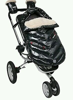 NEW Polar Igloo Footmuff Size: Large (18 months-3T), Color: Black
