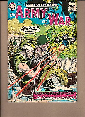 "Our Army At War  #144 1964  Dc  Fn/fn-  ""sgt. Rock's-Easy Co.""  Kubert"