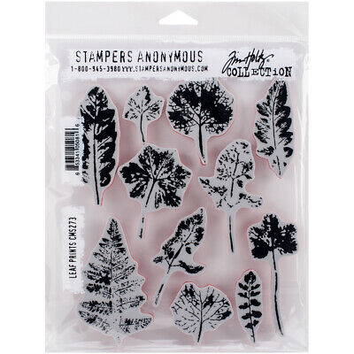 "Stampers Anonymous Tim Holtz Cling Stamps 7/""X8.5/""-Flower Jar"