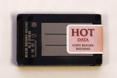 HOT DATA Labels - Prevent accidental memory card erasure!  Pack of 24