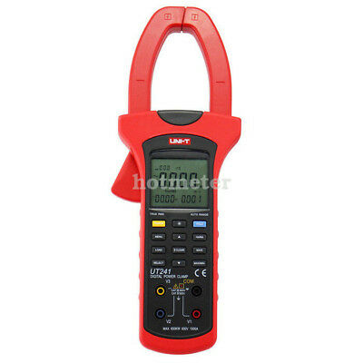 H● UNI-T UT241 High Voltage AC DC Digital Power and Harmonics Clamp Meters