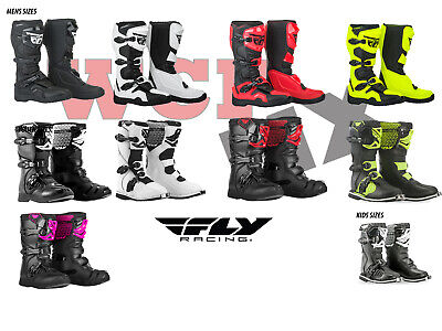 FLY RACING MAVERIK Off-Road Motocross Boots Mens, Youth, Kids Sizes