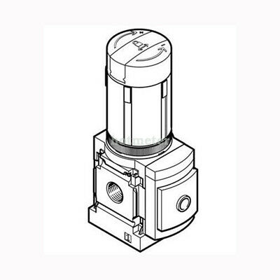 H● FESTO MS4-LR-1/8-D6-A8 Pressure Regulator 543519