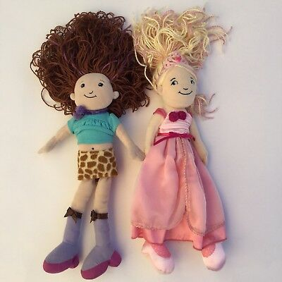 Groovy Girls by Manhatten Toys Seraphina and Reese Plush Stuffed Dolls