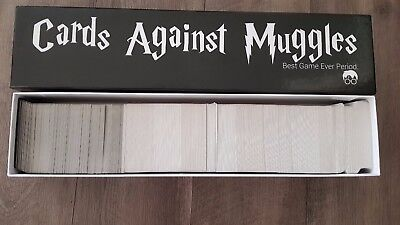 Cards Against Muggles - Harry Potter - Professionally Printed Set in Sealed Box