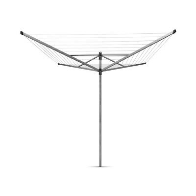Brabantia Rotary Lift-O-Matic Airer 4 Arm With Ground Spike 50m