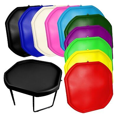 Large Plastic Children Kid Play Tuff Spot MIXING TRAY Toy Sand Pit Stand New