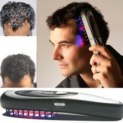 Massage Equipment Comb Hair Growth Care Treatment Laser Comb Body Massager 1pc