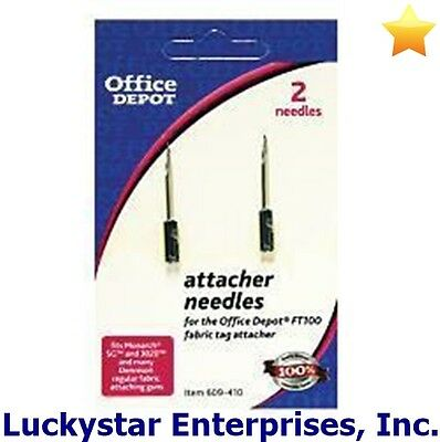 Office Depot Brand Tag Attacher Replacement Needles 2-Pack - NEW in pkg - 227012