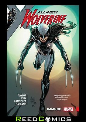 ALL NEW WOLVERINE VOLUME 4 IMMUNE GRAPHIC NOVEL New Paperback Collects #19-24