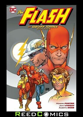 FLASH BY GEOFF JOHNS BOOK 4 GRAPHIC NOVEL New Paperback Collects (1987) #201-213