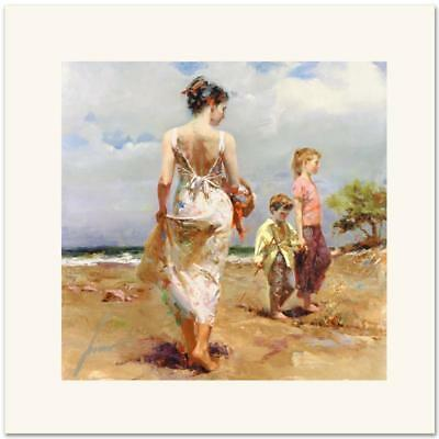 "Pino Daeni,Hand-painted Portrait oil Painting On Canvas 24x24""#23/Unframed"