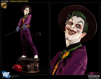 Sideshow Premium Format Exclusive JOKER statue - EX - switch out head