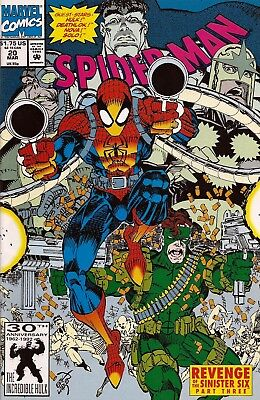 Spider-Man #20 Revenge Of The Sinister Six Part 3! Vf/nm Hulk Deathlok Nova App!
