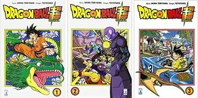 MANGA Dragon Ball Super n°1-3 NUOVO