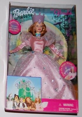 Barbie as GLINDA in The Wizard of Oz - Talking Doll w/ Ringing Wand - BRAND NEW