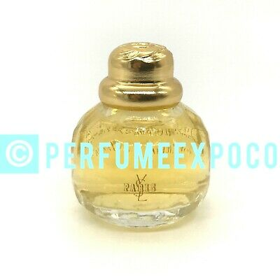 YVES SAINT LAURENT PARIS Perfume Womens 0.25oz Eau De Parfum Miniature (Bi01