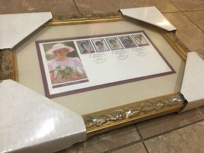 Vintage Princess Diana of FDC with Frame NWT New