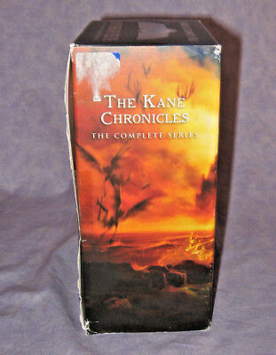 The Kane Chronicles The Complete Series Boxed Set 3 Volumes Rick Riordan