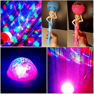 Zauberstab m. LED Lichtshow + Musik Let it Go vom Film Disney Frozen B Ware 34cm