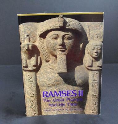 Vintage Ramses II The Great Pharaoh By Rita E Freed (1987, Paperback) Book W1