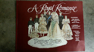 """A Royal Romance"" Paper Dolls Book by Rosemond"