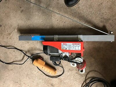 Hilka, Electric Hoist  125 Kg Lift New Never Used/ In Storage