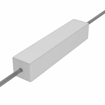 2 pcs 5R6  5,6R   5/%  10W  Hochlast Widerstand Drahtwiderstand Zement  axial