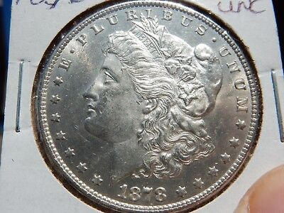 1878 7/8TF Morgan silver dollar it's the VAM41A! Unc. FREE shipping, NEVER tax!!