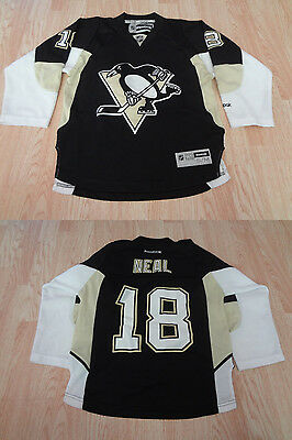 REEBOK PREMIER NHL Jersey Pittsburgh Penguins James Neal Black sz S ... 66eeb2ac7