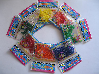 10packs Magic Crystal Soil Water Beads for Vases Flowers Weddings Decoration NEW