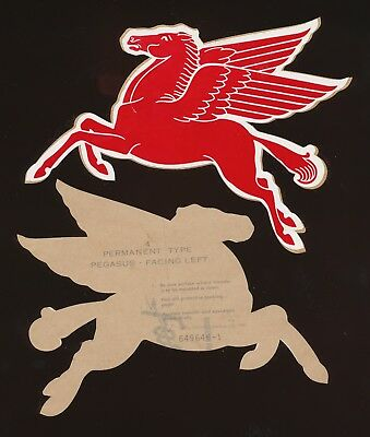 PEGASUS facing left - Mobil Oil Decal - 5""