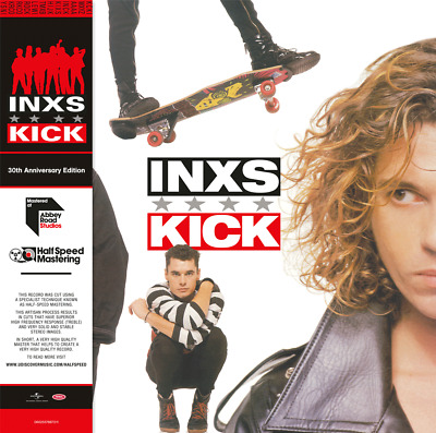 INXS Kick 2017 limited edition 30th anny 180gm RED vinyl 2 LP g/f NEW/SEALED