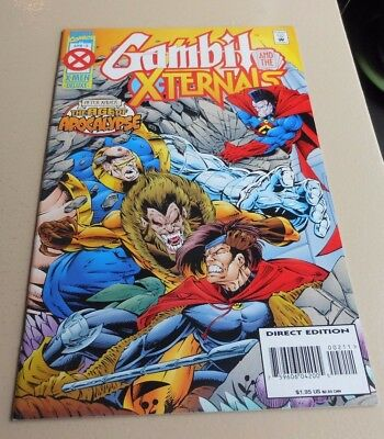 Gambit And The X-Ternals 2 Vf Marvel 1995 Age Of Apocalypse X-Men Starjammers