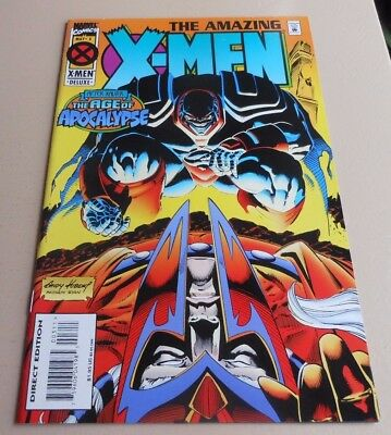 Amazing X-Men 3 Vf/nm Marvel 1995 Age Of Apocalypse Parents Of The Atom Sale