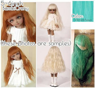U-noa 1.5 Leeke World 6~6.5inch Wig for Ball Jointed Dolls BJD etc SDCute