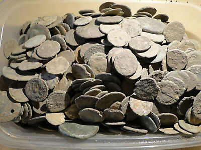 20 Assorted Uncleaned Low Quality Roman Bronze Coins.