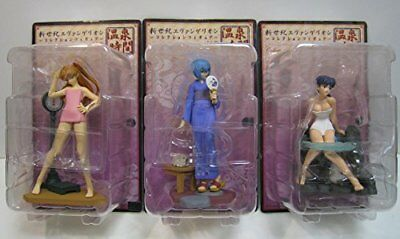 Evangelion Collection Figure hot spring time 3 types set