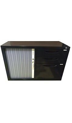 Mobile Tambour Door Caddy OFFICE STORAGE Filling * * *LESS THAN HALF PRICE * * *