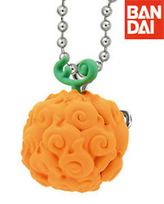 BANDAI One Piece Anime Linked Halloween Special Keychain Flame-Flame Fruit