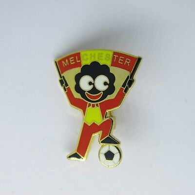 Robertson's Style Lapel Pin, Football Club, MELCHESTER, ROY OF THE ROVERS
